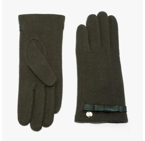 Γάντια Coccinelle μάλλινα πράσινα