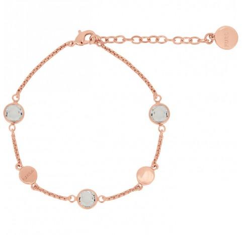 Βραχίολι crystal by Furla ροζ χρυσό