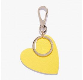 Μπρελόκ καρδούλα κίτρινο Coccinelle