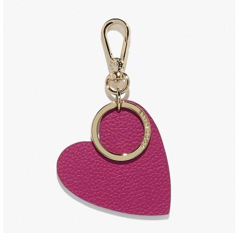 Μπρελόκ καρδούλα ροζ Coccinelle