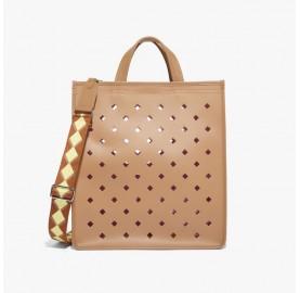 Τσάντα COCCINELLE  C-bag καφέ