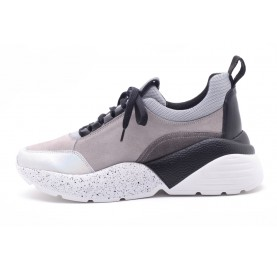 Sneaker Kmb Eclat Λευκό-Γκρί