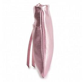 Τσαντάκι φάκελος Coccinelle ρόζ χρυσό