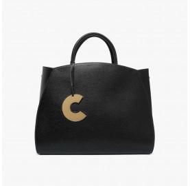 Τσάντα Coccinelle Concrete Maxi Μαύρη