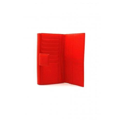 Πορτοφόλι Coccinelle Metallic Soft Maxi Κόκκινο