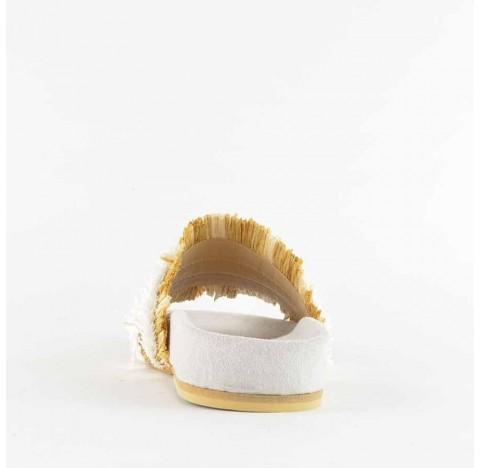 Παντοφλάκι FIORINA Samba Λευκό