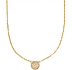 Κολιέ Furla Crystal χρυσό