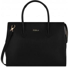 Τσάντα Furla Pin Μαύρη